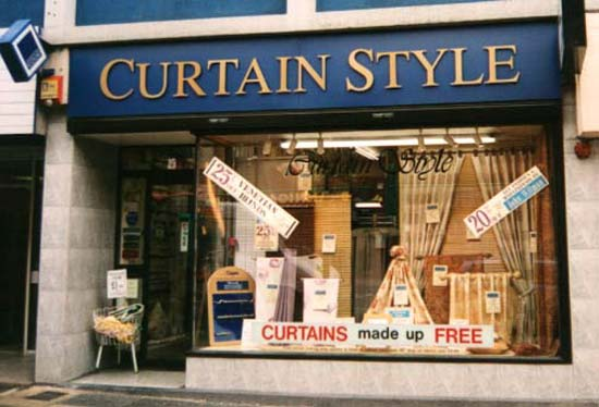 Attractive Picture Curtain Shop